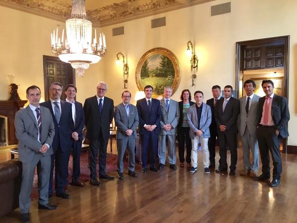 CEJE se reúne con el Secretario de Estado de Relaciones con las Cortes D. José Luís Ayllón