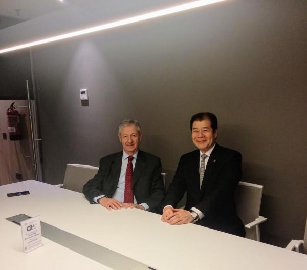 El presidente del Círculo Empresarial Japón España se reúne con el presidente de la Asociación Casa Japón