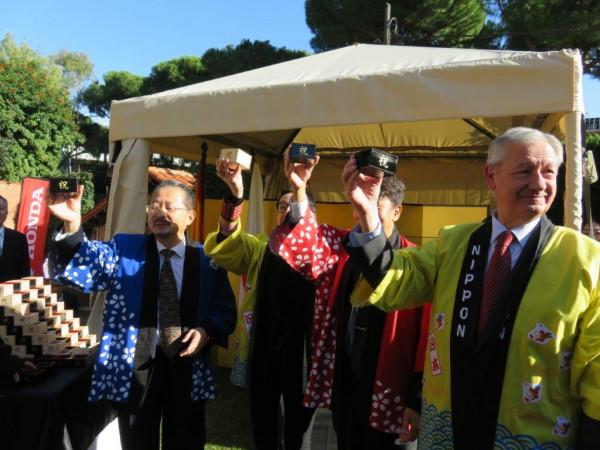 CEJE participa en la fiesta del Día Nacional de Japón, en la residencia del Cónsul General