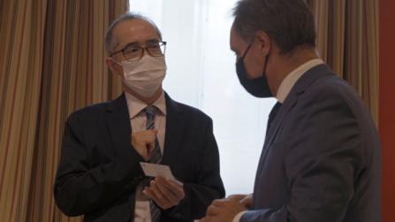 Almuerzo de bienvenida con el nuevo Cónsul General del Japón en Barcelona, Sr. Yasushi Sato