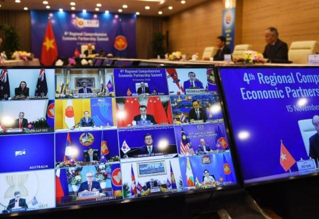 Los países de Asia-Pacífico firman el mayor acuerdo comercial del mundo