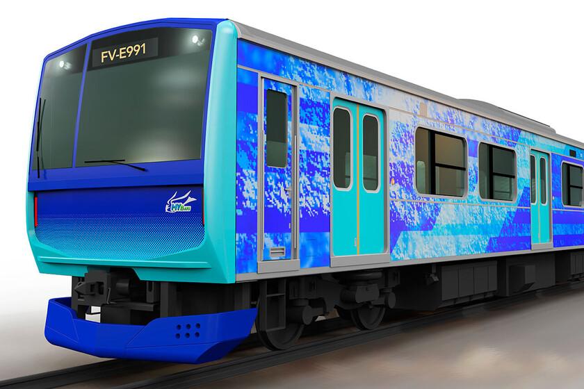 Toyota develops a hydrogen train that will operate in Japan in 2022