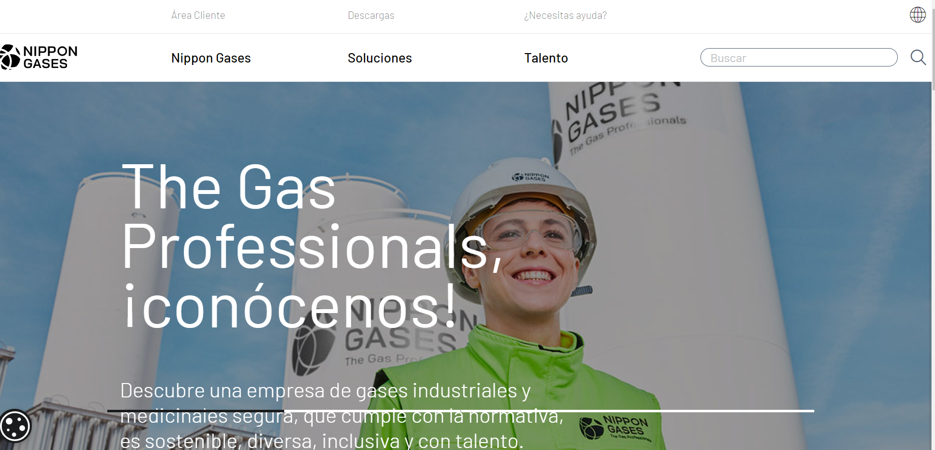 Nippon Gases launches new website