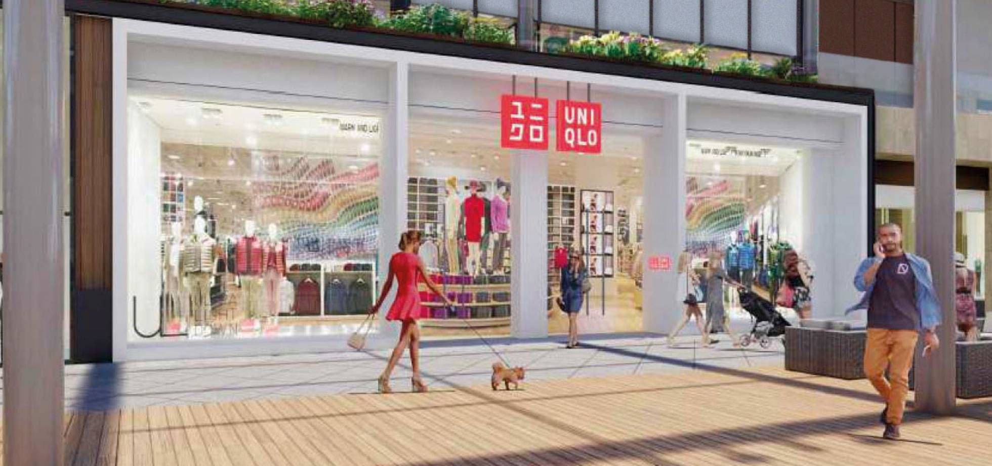 Uniqlo opens its fifth store in Spain