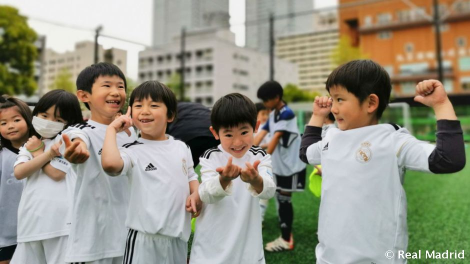 The Real Madrid Foundation opens its fifth school in Japan